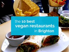 During a day trip to Brighton we gave ourselves the quest of finding vegan fish 'n' chips at the many vegetarian and vegan restaurants in Brighton Vegan Fish And Chips, Meat Diet, Finding Vegan, Vegan News, Vegan Restaurants, Tofu, Brighton, Vegan Vegetarian, Beef