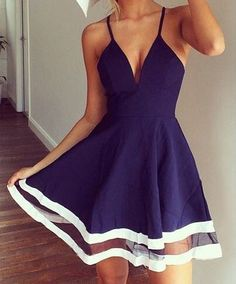Sexy Spaghetti Strap Sleeveless Dress