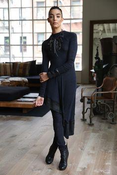 Donna Karan Shows Urban Zen for Fall - Slideshow