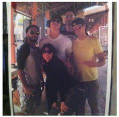 Graceland cast. Looks like they're having fun. :-)