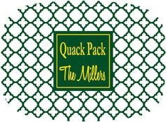 Personalized Tailgate Tray by Gameday Girl Designs QUACK PACK #Oregon #Ducks