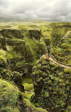 Mossy Canyon, #Iceland