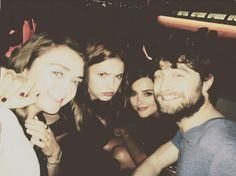 Maisie Williams [Arya Stark (GoT)], Hannah Murray [Gilly (GoT)] , Jenna Coleman [Clara (Doctor Who)] and Daniel Radcliffe [Harry Potter (HP)]