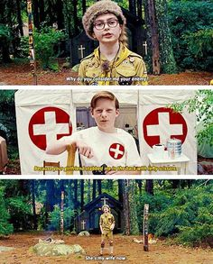Moonrise Kingdom. THIS MOVIE. Fun fact- Im family friends with the lead (the kid who plays Sam).