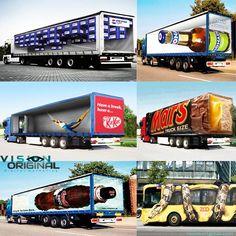 #original #creative #marketing Trucks, Marketing, The Originals, Creative, Get Well Soon, Truck, Cars