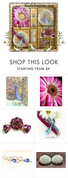 """""""Celebration"""" by sylvia-cameojewels ❤ liked on Polyvore featuring Lazuli"""