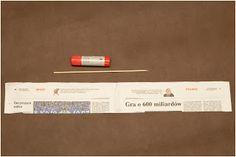 Ania Inspiruje : podstawy papierowej wikliny- rurka
