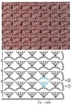 Free crochet pattern pattern is for a sweater but can use the general stitch for other projects salvabrani – artofit – Artofit Image gallery – Page 350647520986401811 – Artofit Crotchet Stitches, Crochet Stitches Patterns, Stitch Patterns, Knitting Patterns, Embroidery Patterns, Diy Embroidery, Embroidery Needles, Knitting Stitches, Hexagon Crochet Pattern