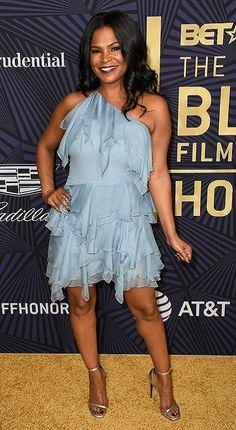 Nia Long, Seductive Women, Lab, Short Black Hairstyles, Black Girls Rock, Celebrity Look, Beautiful Black Women, Girly Girl, Sexy Legs