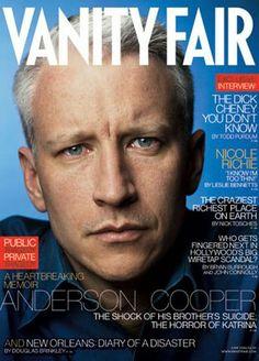Vanity Fair June 2006 featuring Anderson Cooper
