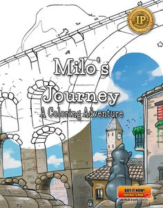 Milo's Journey: A #Coloring Adventure by marknpablo