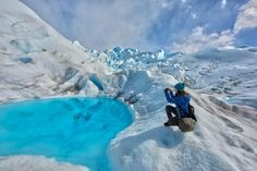 Extreme iPhoneography on the top of a Patagonian glacier ;)  https://www.facebook.com/mostlylisa