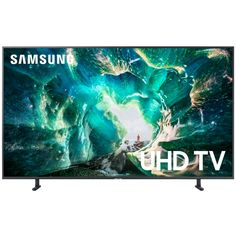 This Samsung UN82RU8000FXZA 82-Inch LED 4K Ultra Smart Tizen HDTV originally $1,999.99 drops to only $1,599.99 at Best Buy. You save 20% off the retail price for this 4K Ultra Smart HDTV. Plus, this item ships free. This is the lowest price we could find online by about $180. The Samsung UN82RU8000FXZA 4K Ultra Smart […] The post Samsung UN82RU8000FXZA 82-Inch LED 4K Ultra Smart Tizen HDTV appeared first on Frugal Buzz. Samsung Uhd Tv, Samsung Logo, Samsung Smart Tv, Apple Tv, Live Tv Show, 4k Pictures, Powerful Pictures, Speakers