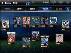 Check out my Madden Mobile Team! Download at http://bit.ly/2evyb19 #MaddenMobile