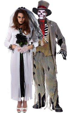 Shake your bones and get ready for the party with our wide range of Skeleton Costumes for adults & kids. Skeleton fancy dress is ideal for Halloween. Skeleton Fancy Dress, Zombie Fancy Dress, Adult Costumes, Halloween Costumes, Zombie Costumes, Couple Halloween, Costume Makeup, Masquerade, Bride Groom