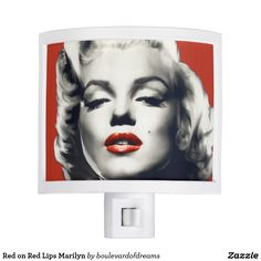 Red On Lips Marilyn