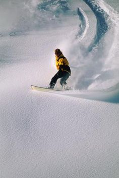 snowboarding...something I wish I was doing right now
