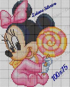 Lidiane Silveira Cross Stitch: Mickey classe