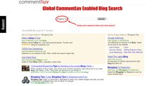 Find CommentLuv Enabled Blogs