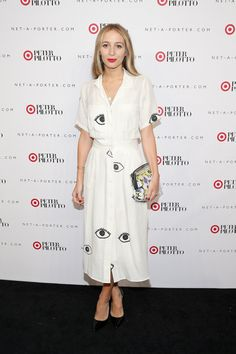 Best Dressed Peter Pilotto for Target Party: Harley Viera Newton