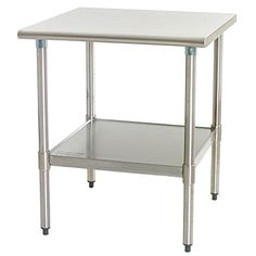 X X Commercial Grade Stainless Steel Food Prep Station - Commercial grade stainless steel table