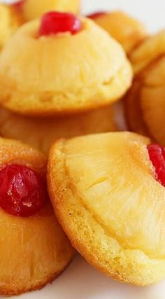 Mini Pineapple Upside Down Cakes Recipe