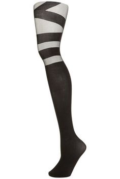I love stockings with a graphic look, it can really lift up your look.