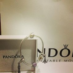 #Pandora bracelet and charms. Pandora has created more than 800 handcrafted #charms