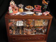 Vintage Halloween Miniature Dollhouse Shop by GoddessofChocolate