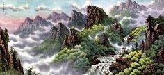 korean landscapes - Google Search