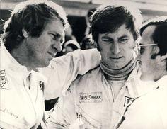 """Steve McQueen and Siegfried Rauch / Kultfilm """"Le Mans"""" mit Steve McQueen: Ziggy und der King of Cool - SPIEGEL…"""