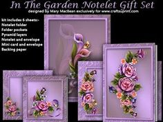 In The Garden Notelet Gift Set