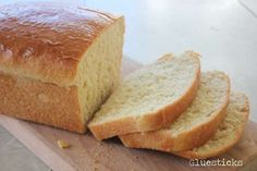 This recipe for homemade Amish white bread yields 2 loaves of perfectly soft white bread. Perfect for sandwiches, toast, or eating fresh from the oven with butter. It has been a family favorite for years! Amish White Bread, Amish Bread, Country Bread, Yeast Bread, Amish Recipes, Easy Bread Recipes, Cooking Recipes, Raspberry Scones, Muffins