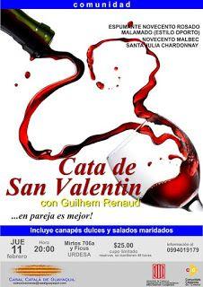 11 FEB CATA DE SAN VALENTÍN - con maridaje dulce y salado