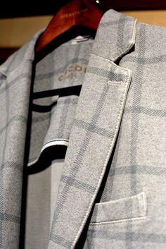 Läcker bomullskavaj från Circolo. www.mosto.se