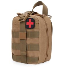Sale 24% (9.99$) - FAITH PRO Hunting Molle Pouch Bag Tactical Camouflage Medical Climbing