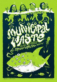 Municipal Waste / DESIGNER: Michael Hacker
