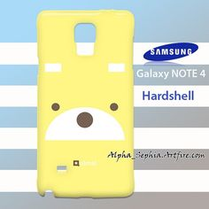 Teddys Face Samsung Galaxy Note 4 Case Cover Hardshell