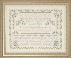 Happily Ever After A Wedding Sampler