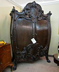 Antique Wardrobe by The Commons Getty Collection. Victorian Furniture, Antique Furniture, Bedroom Furniture, Home Furniture, Furniture Ideas, Industrial Furniture, Antique Desk, Antique Wood, Antique Chairs