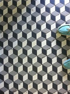 Via Young Pretty Wild | Geometric Floor Tiles Would be nice as kitchen tiles