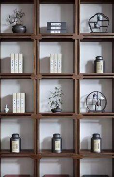 Interior Design, Renovation, Decoration, Furniture - archiparti is an award-winning interior design management service for go-getters. Shelf Design, Cabinet Design, Wall Design, Chinese Interior, Japanese Interior Design, Home Theaters, Bookcase Storage, Shelving, Loft Storage