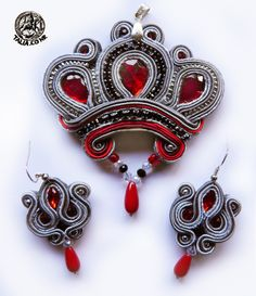 """Royal"" soutache set"