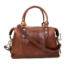 JW Hulme Fairmount Satchel in American Heritage Leather.  Can I just go ahead and *pin* their entire website?  #JWHulme bags are all made in America and guaranteed for life.  Do not have.  Desperately want.  $750