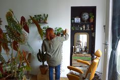 PLANT COLLECTOR #4 JUSTINE / COIFFEUSE