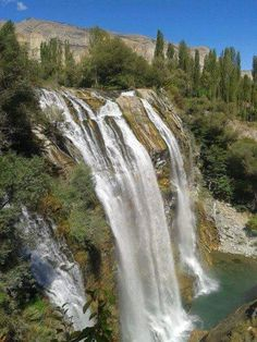 Tortum waterfall Erzurum