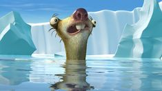 In the film Ice Age: The Meltdown the glaciers that cover the world start melting at a rapid rate flooding landmasses increasing sea levels and forcing animals out of their habitats. This is the most realistic thing to occur in the Ice Age series. Ice Age Sid, Ice Age Collision Course, Sid The Sloth, Blue Sky Studios, 8k Wallpaper, Disney Wallpaper, Smile Images, Hd Images, Free Images