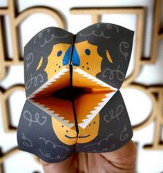 printable lion kids toy animal gift free craft art