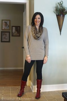 Fashion Over 40 | Daily Mom Style 01.08.14 | Musings of a Housewife