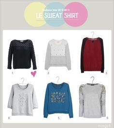 tendance hiver 2012-2013 : le sweat-shirt